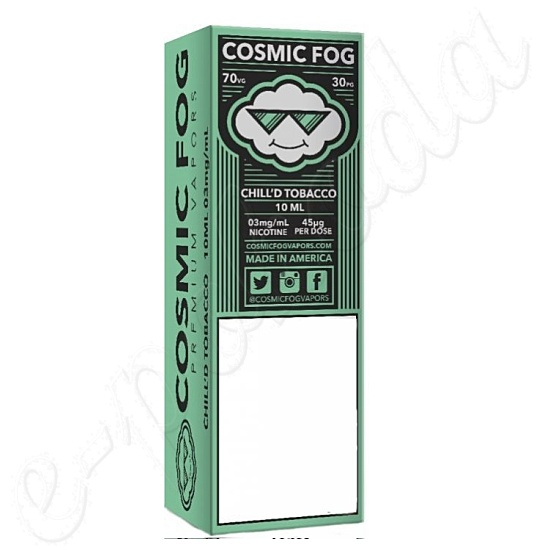 liquid COSMIC FOG - Chill´d Tobacco 10ml-0mg