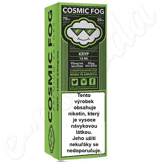 liquid COSMIC FOG - Kryp 10ml-3mg