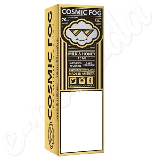 liquid COSMIC FOG - Milk and Honey 10ml-0mg