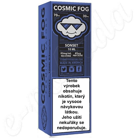 liquid COSMIC FOG - Sonset 10ml-3mg