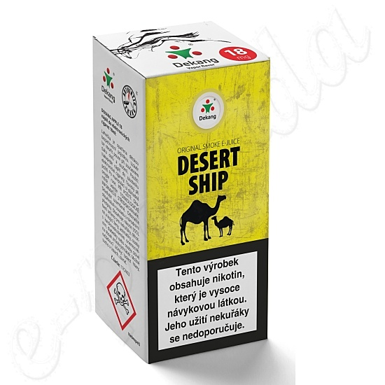 liquid DEKANG Classic Desert Ship 10ml-6mg