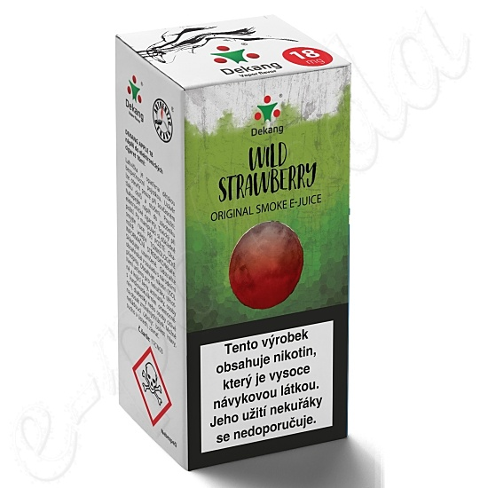 liquid DEKANG Classic Wild Strawberry 10ml-6mg