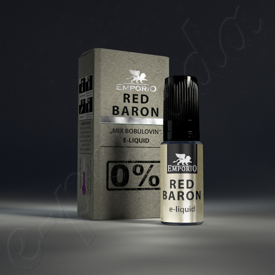 výprodej liquid Emporio RED BARON 10ml-0mg