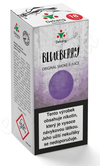 liquid DEKANG Classic Blueberry 10ml-6mg