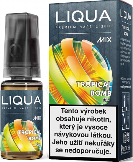 liquid LIQUA Mix Tropical Bomb 10ml-3mg