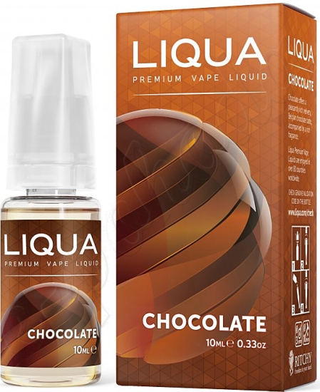 výprodej liquid LIQUA Elements Chocolate 10ml-0mg