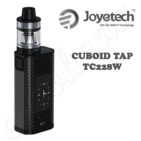 Joyetech CUBOID TAP TC228W Grip FULL Kit - Black