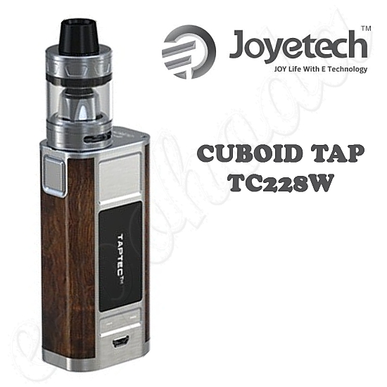 Joyetech CUBOID TAP TC228W Grip FULL Kit - Silver