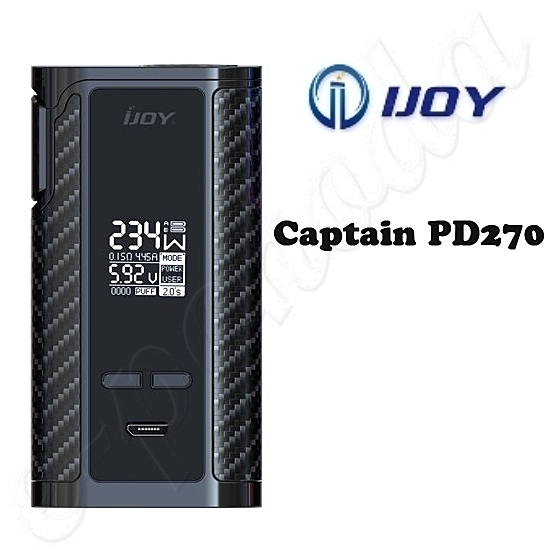 IJOY Captain PD270 TC 234W grip - Black