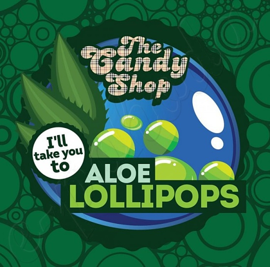 Aroma Big Mouth CANDY - Aloe Lollipops
