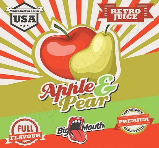 Aroma Big Mouth RETRO - Apple and Pear