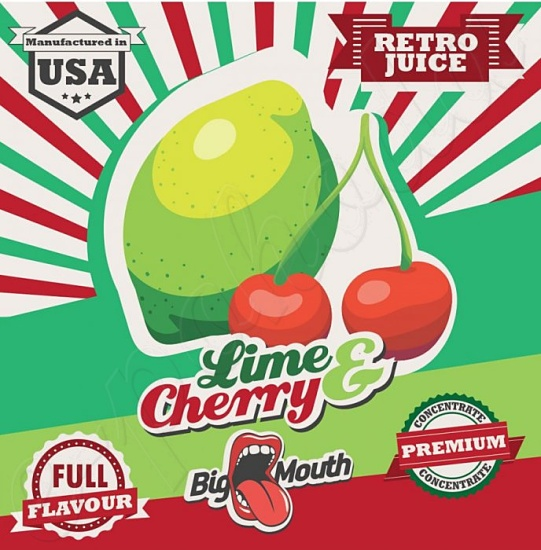 Aroma Big Mouth RETRO - Lime and Cherry