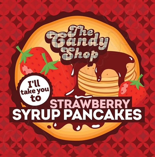 Aroma Big Mouth CANDY - Strawberry Syrup Pancakes