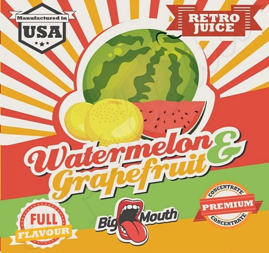 Aroma Big Mouth RETRO - Watermelon and Grapefruit