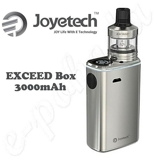 Joyetech EXCEED Box 3000mAh Full Kit - Silver