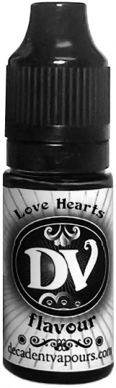 Aroma Decadent Vapours - Love Hearts 10ml
