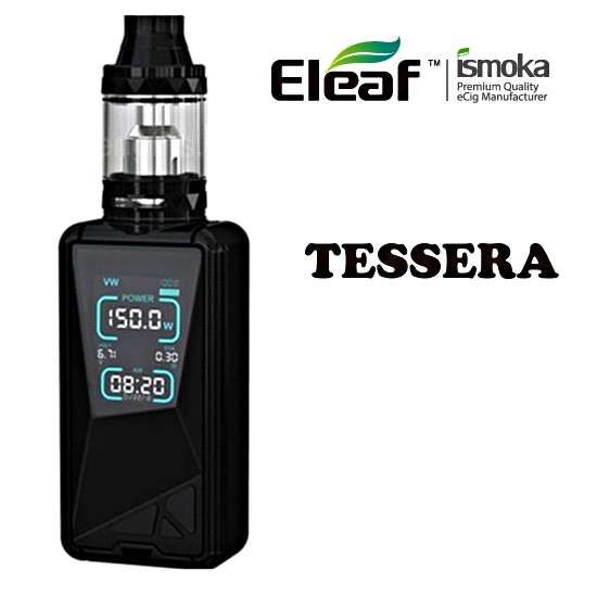 Eleaf TESSERA grip 3400mAh Full Kit - Black