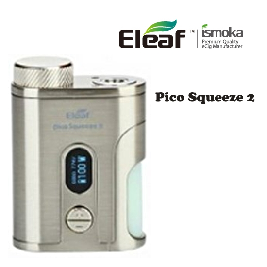 Eleaf Pico Squeeze 2 Grip Easy Kit - Silver