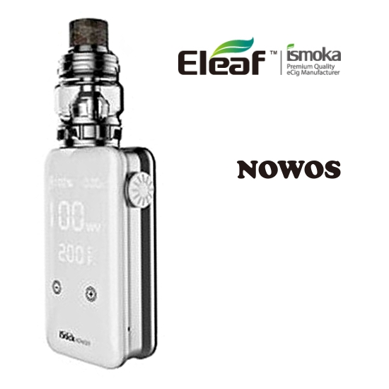 Eleaf iStick NOWOS grip Full Kit 4400mAh - Silver