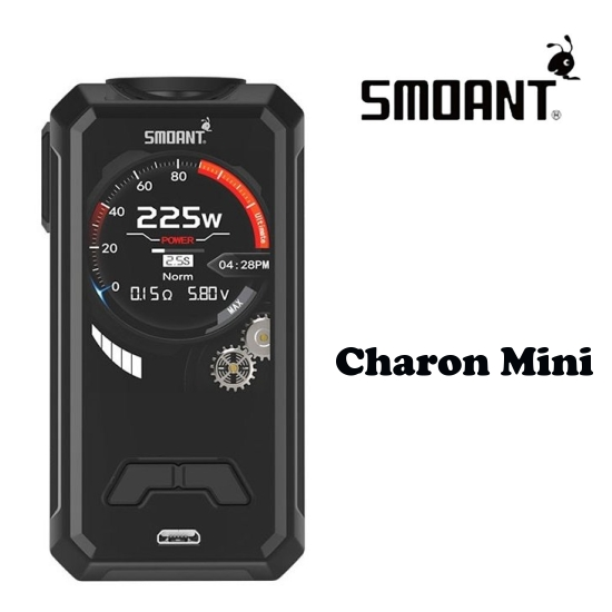 Smoant Charon Mini 225W Grip Easy Kit - Black