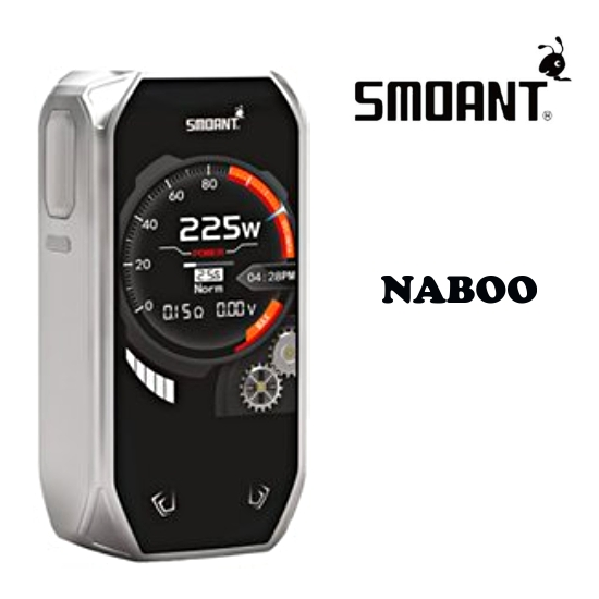 Smoant Naboo 225W Grip Easy Kit - Silver