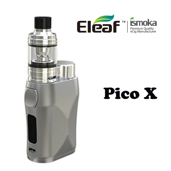 Eleaf iStick Pico X TC75W Full Kit Grip - Silver