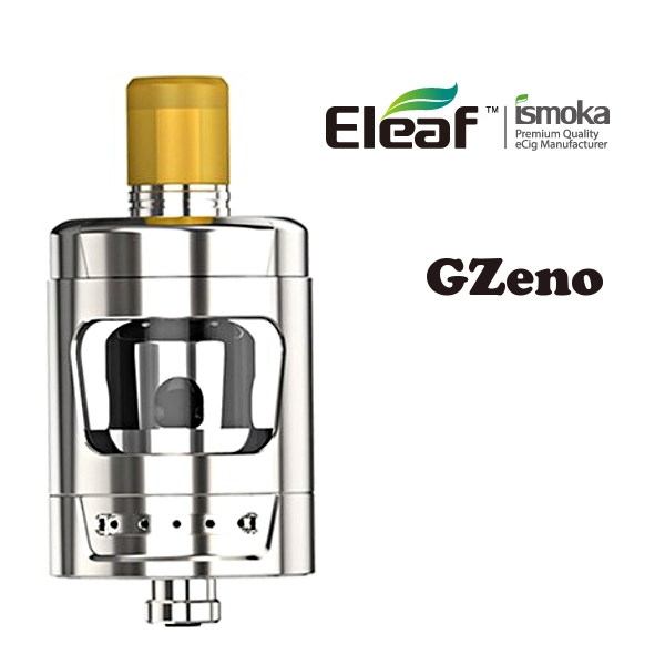 iSmoka-Eleaf GZeno clearomizer 3ml - Silver